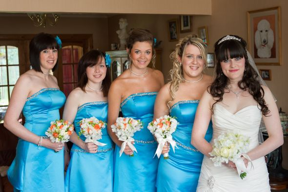 Me and 4 of my 5 bridesmaids