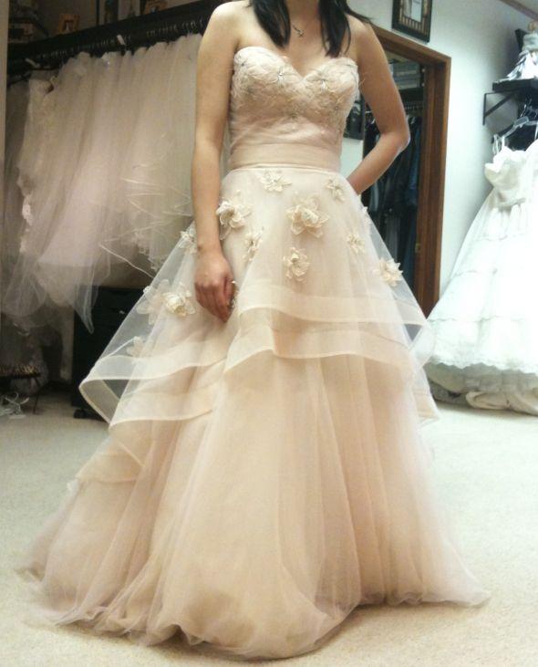 Ceremony Vs Reception Dress: Vera White Collection Vs. Wtoo Olivia (picture Heavy