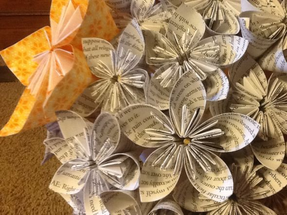 What do you think of my paper flower bouquets and how can i make while i really like the kusudama flowers i found it really difficult to arrange them theyre very geometric so they dont squish well mightylinksfo