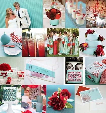 Using red in a spring wedding Help please