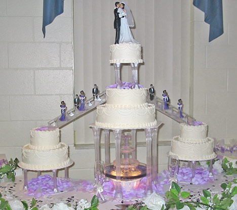 wedding cake Fountain IvLav So after asking me in a really excited voice