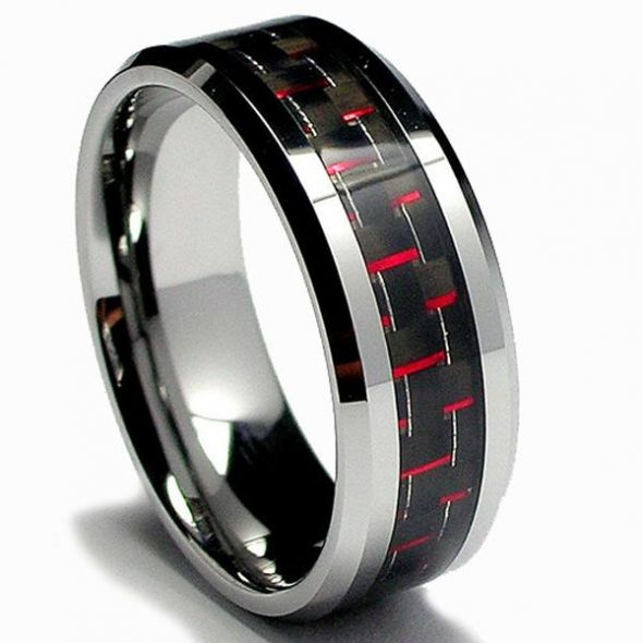 Show us your guy's wedding bands under $300 Weddingbee