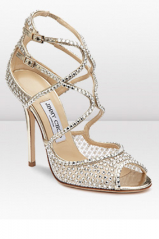My Crystal Wedding Shoes Weddingbee Photo Gallery