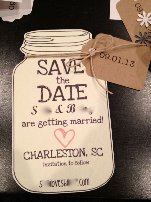 diy save the date magnets template - southern save the dates weddingbee photo gallery