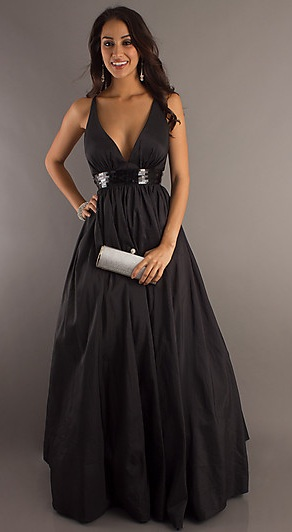 Yay! Finally ordered MOH's dress :  wedding black bridesmaids MOH 1