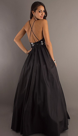 Yay! Finally ordered MOH's dress :  wedding black bridesmaids MOH 2