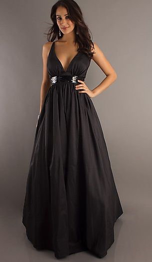 Yay! Finally ordered MOH's dress :  wedding black bridesmaids MOH 3