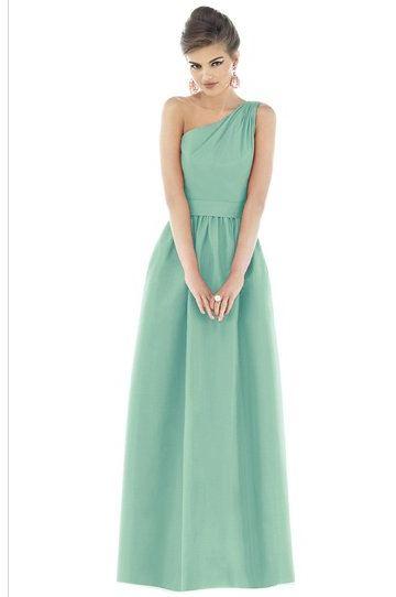 Seafoam Chiffon Bridesmaid Dress Dilemma