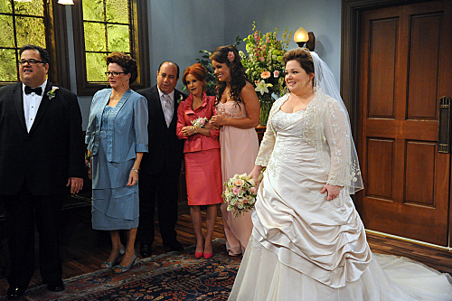 Mike Molly The Wedding Dress