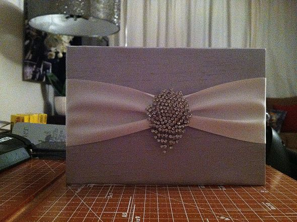 Our DIY silk wrapped wedding invites Posted 2 weeks ago by FutureDean
