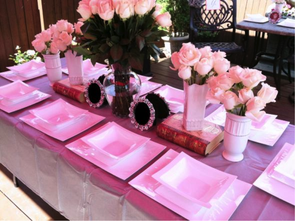 Our Co-ed Aussie Barbie meets NY style- backyard bridal shower! DIY ...