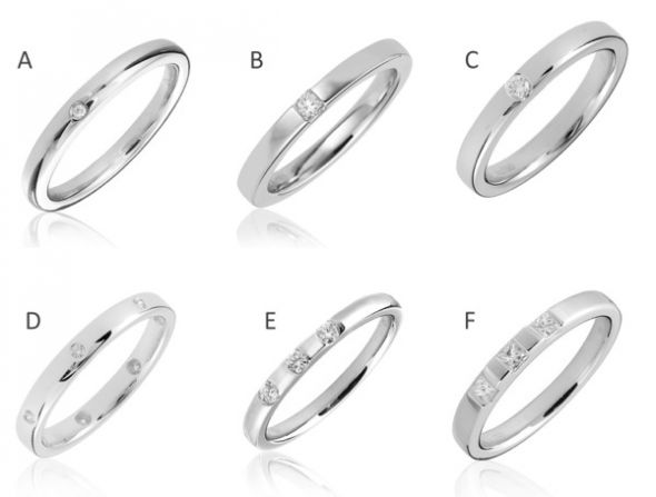Wedding ring w small diamond – help me decide please Weddingbee