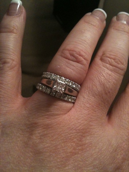 New Ring I Just Got In March A Great Deal On It 1 02ct Princess But Dont Like The Setting
