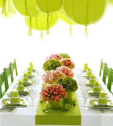 How to make bold wedding colors look sophisticated wedding Pet3greenretro
