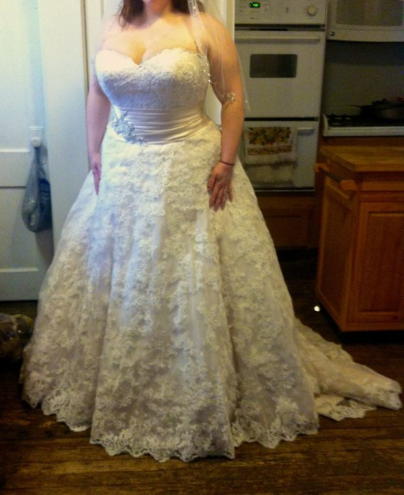How much was your wedding dress weddingbee page 3 for Wedding dress alterations indianapolis