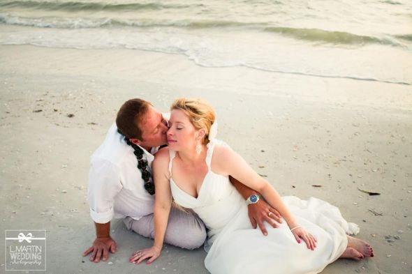 More of My Beach Wedding Day!
