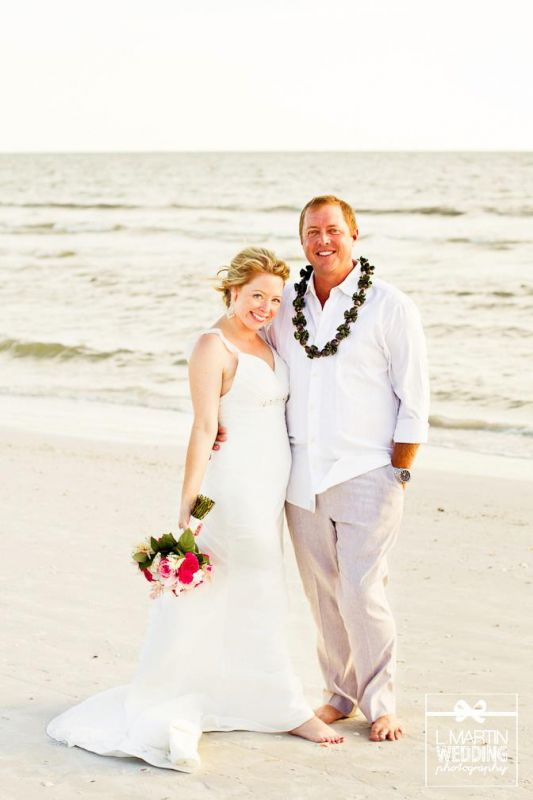 My Beach Wedding Day!