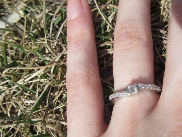 1 10 ctpromise ring as an ering wedding ring engagement 2 weeks ago