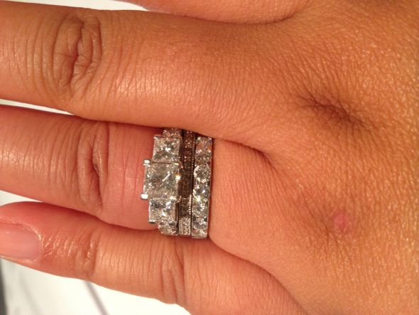 stone quotations shopping real settings engagement get gold guides cheap band anniversary ring find white bands vs diamond