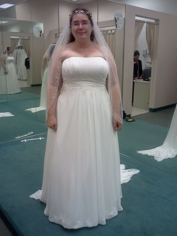 Hair Half Up Half Down Plus Veil And Accessory Too Much