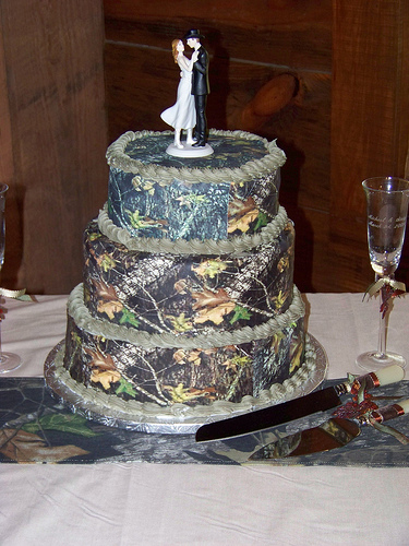 Camouflage Wedding Reception Ideas!! Any Takers?????