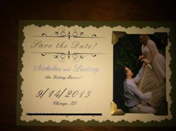 Vintage/Rustic Save the Dates!