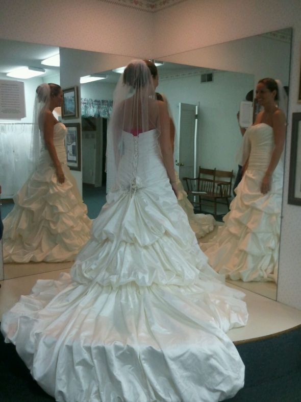 dress opinions??? :  wedding dress ivory mori lee 4912 Dress 7a
