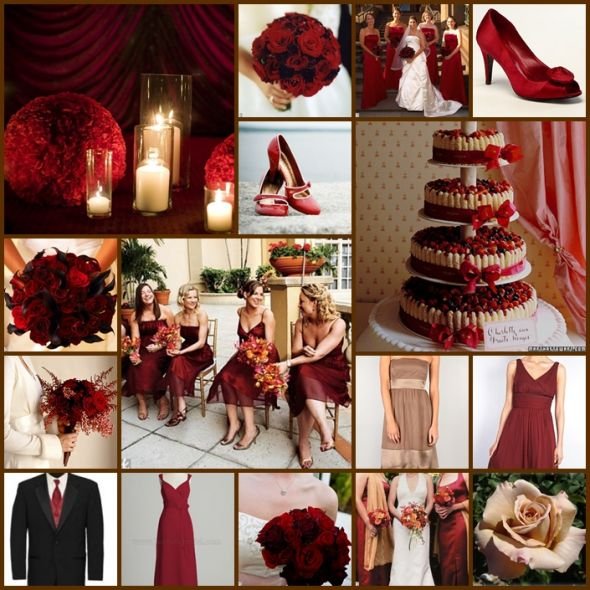 wedding decoration ideas,red and white wedding decoration ideas