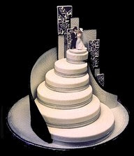 What do you think about this wedding cake?