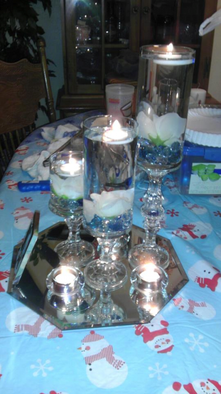 Diy dollar tree centerpiece s per table i re
