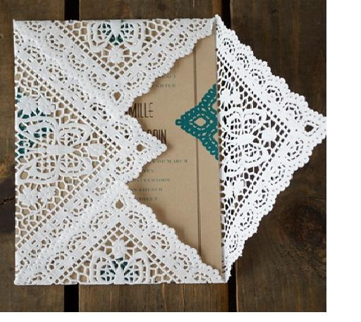 5 inch paper doilies