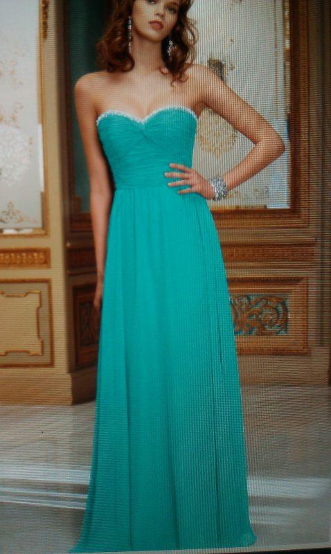 Tiffany Blue And Silver Bridesmaid Dresses 79