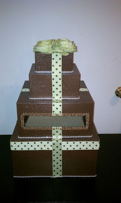 Brown and Sage CardBox Done