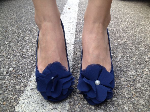 "In Love With My ""something Blue"" Shoes!! :)"