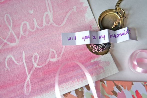 Will You be my Bridesmaid? :  wedding ask my bridesmaids bridesmaids diy engagement Will You Be My Bridesmaid
