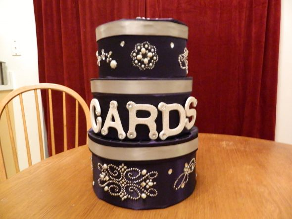 Purple & Silver Cardbox