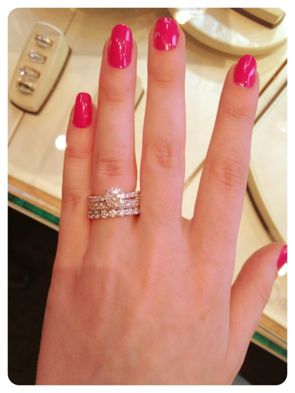 What Order Should I Wear My Wedding Rings Jewelry Ideas