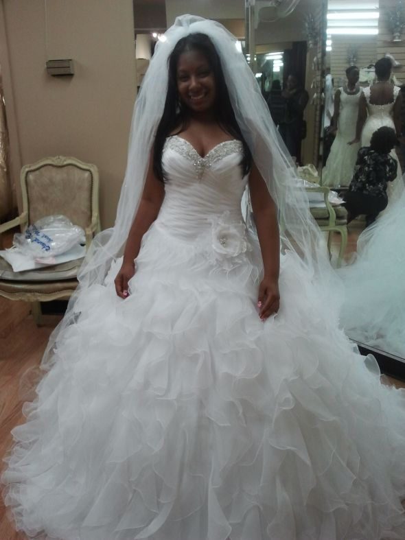 My Beautiful wedding gown. :  wedding dress 2012 04 25 11.21.44