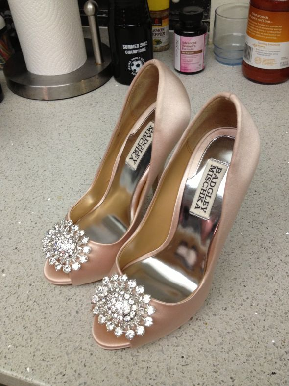 My New Wedding Shoes!! Badgley Misch