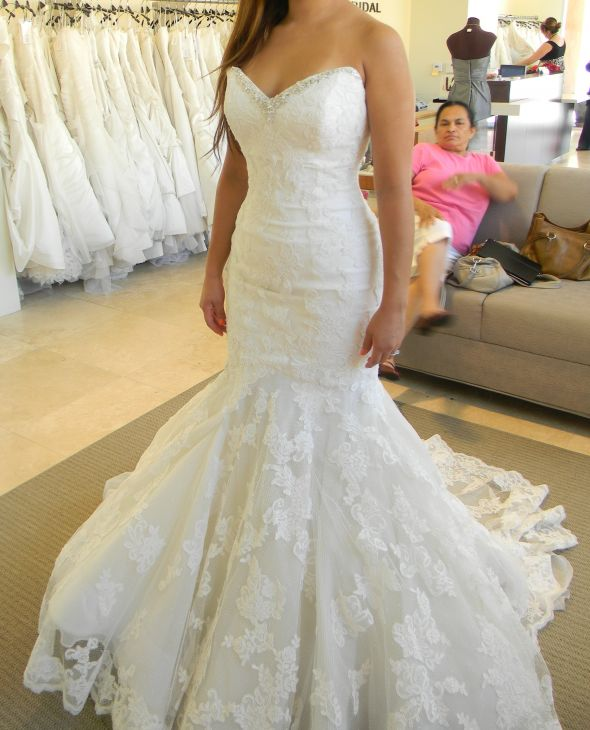 Need Help with Mermaid Wedding Dress Alterations
