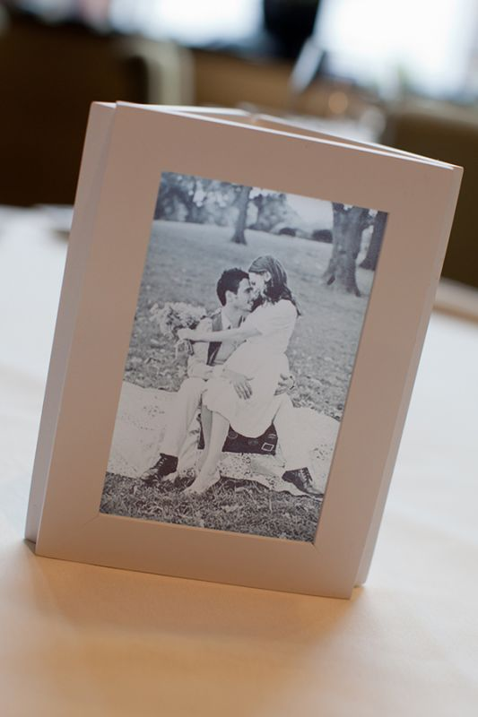 Diy Photo Centerpiece