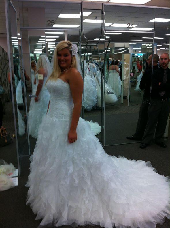Davids Bridal Dress Love!