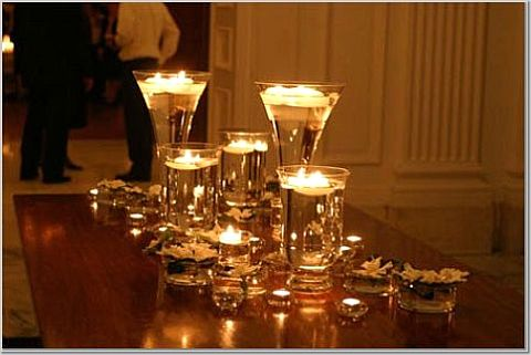 CANDLE ONLY CENTERPIECES??? - Weddingbee