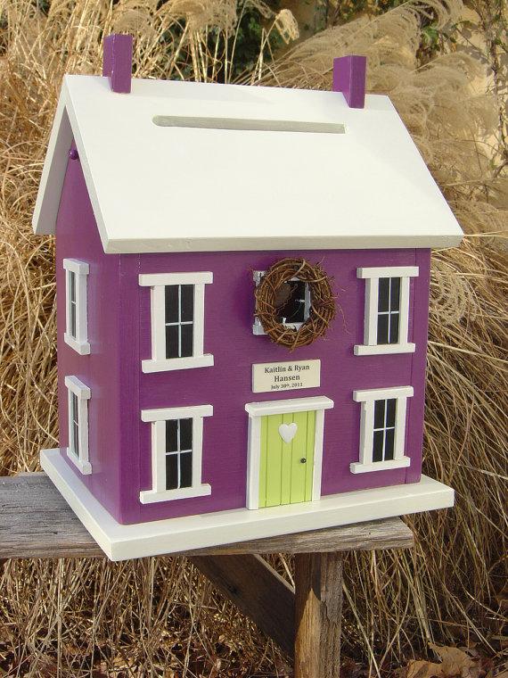 DIY House Card Box