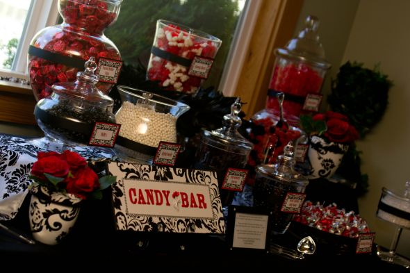 Candy Buffet The Knot