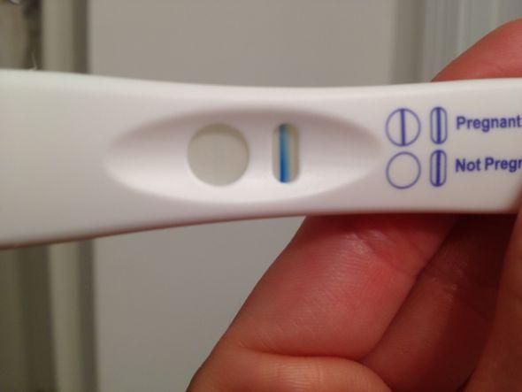 Pregnant or evaporation line weddingbee
