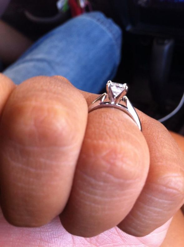 Wedding band and Enhancers suggestions for princess solitaire ...