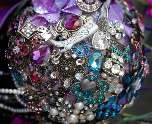 Brooch/Jewelry Bouquet
