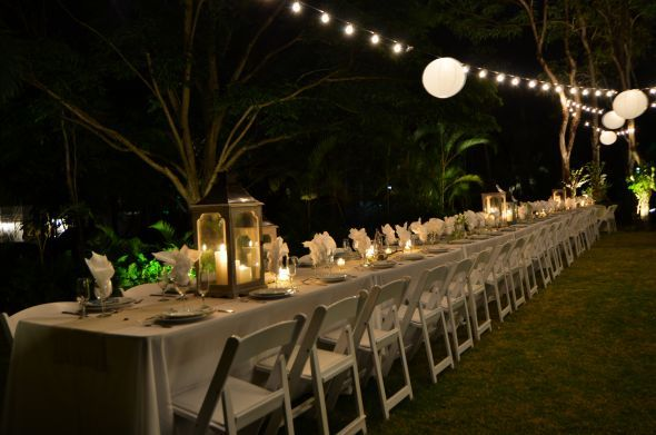 Wave love beach engagement party ideas principles in for Backyard engagement party decoration ideas