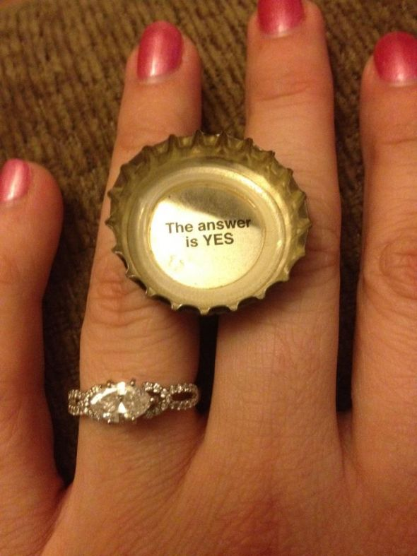 care to share unique engagement rings